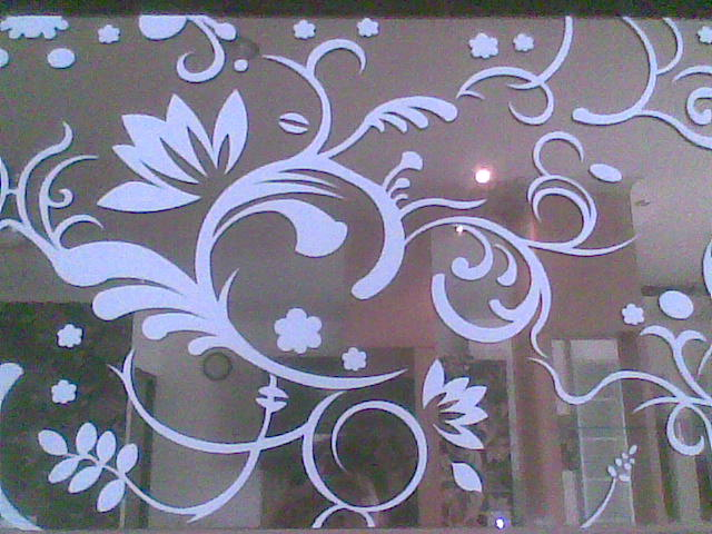 cutting oracal 2 - Sticker Sandblast Motif