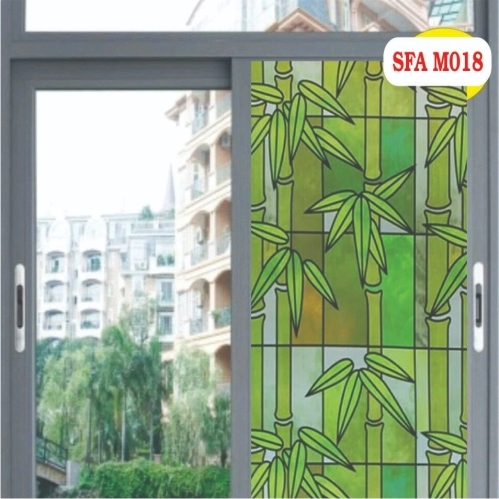 Motif bambu hijau - Galeri