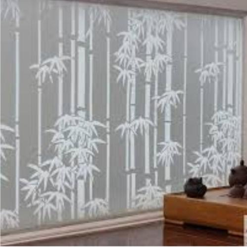 Motif bambu putih - Galeri